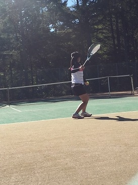 【硬式テニス部】県新人テニス選手権大会東信地区大会