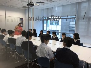 EF校での英語授業