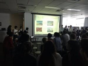 EF校でのプレゼン日本文化について